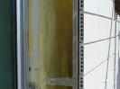 Полиуретанова изолация зад окачена фасада
