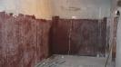 Стена преди изолация с полиуретан