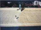 Изолация на ламаринен покрив с полиуретан